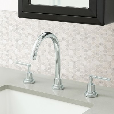 MARBRE HEXAGONE - Dosseret-Backsplash
