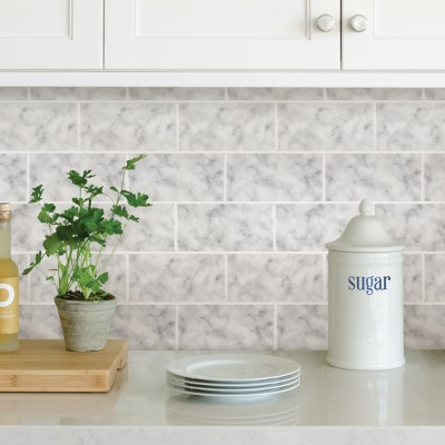 SUBWAY CARRARA - Dosseret-Backsplash