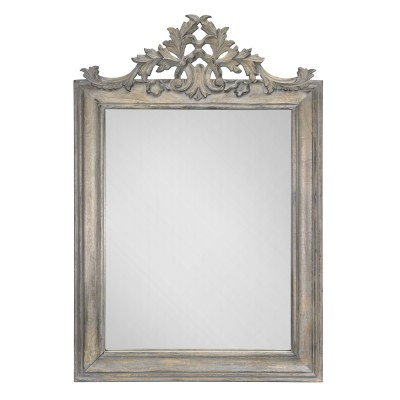 BIANCA Grey Carved - Miroir