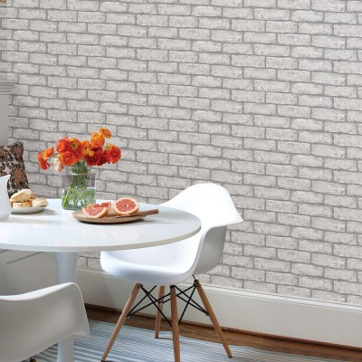 CAMBRIDGE BRICK GREY - InHome - Papier peint autocollant