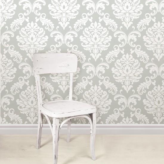 ariel gris nuwallpaper autocollant. Black Bedroom Furniture Sets. Home Design Ideas