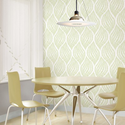 FERN LIME GREEN - NuWallpaper
