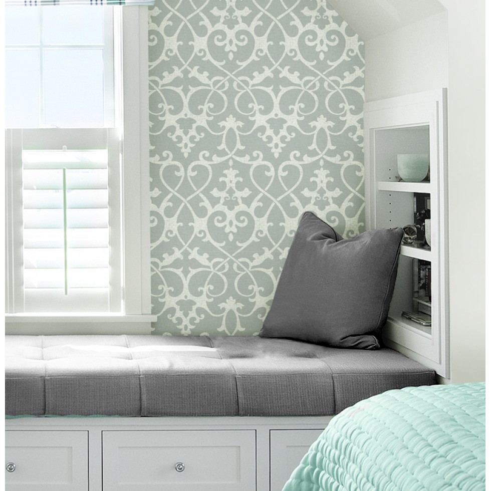 ironwork grey nuwallpaper autocollant. Black Bedroom Furniture Sets. Home Design Ideas