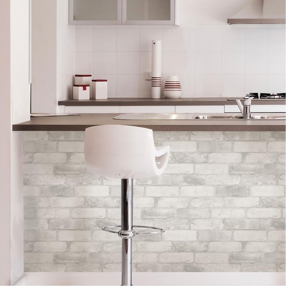 papier peint brique blanche papier peint intiss brique d blanc with papier peint brique blanche. Black Bedroom Furniture Sets. Home Design Ideas