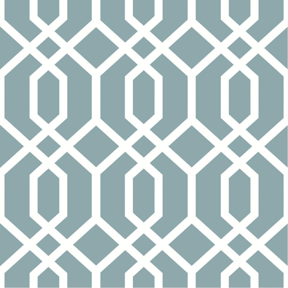 montauk lattice hemlock blue nuwallpaper autocollant. Black Bedroom Furniture Sets. Home Design Ideas